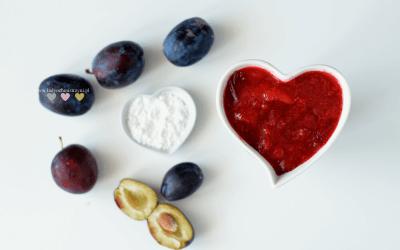 Kisiel ze śliwkami BLW – jesienne smaki