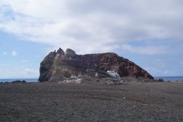 There were lots of helicopters that kept landing on the island.