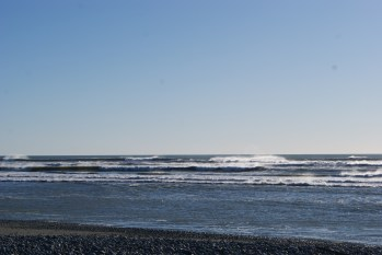 The Greymouth waves were crazy!