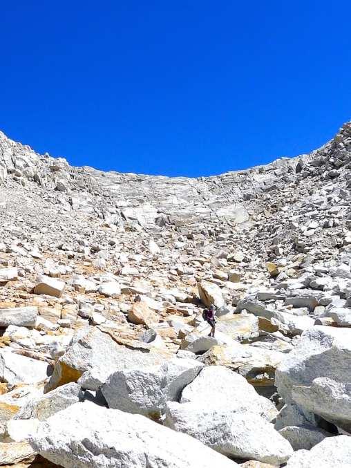 Rockin' ascending Feather Pass