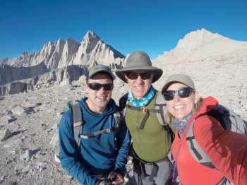 Mount Russell (far left arete)