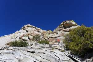 Interesting granite
