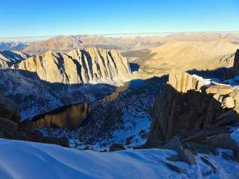 Western view of Sierras