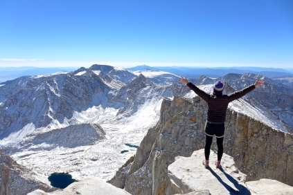 Stealthy on Mount Whitney Summit
