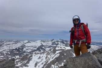 Grant on the summit