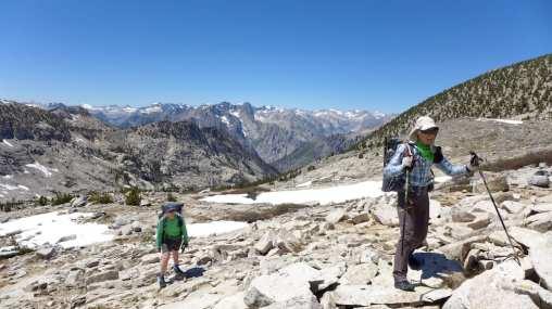 Climbing White Pass