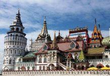 Izmailovo Kremlin Moscow
