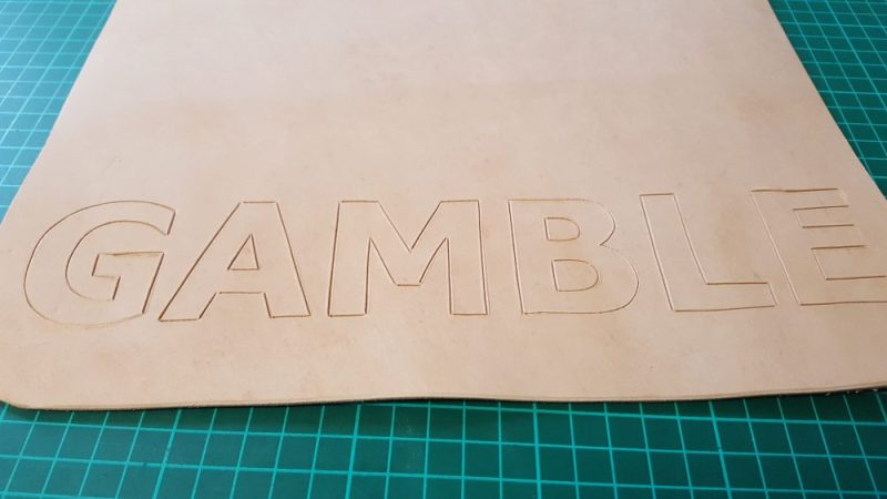 Hand Carved Name