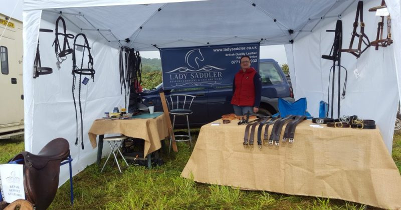 Trade Stand at the Halesowen & Hagley Horse Show