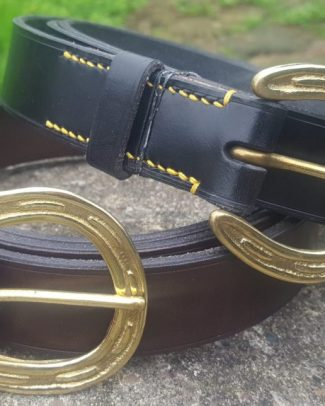 Horseshoe Buckle Belts