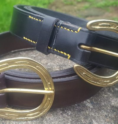 Horseshoe Buckle Belts