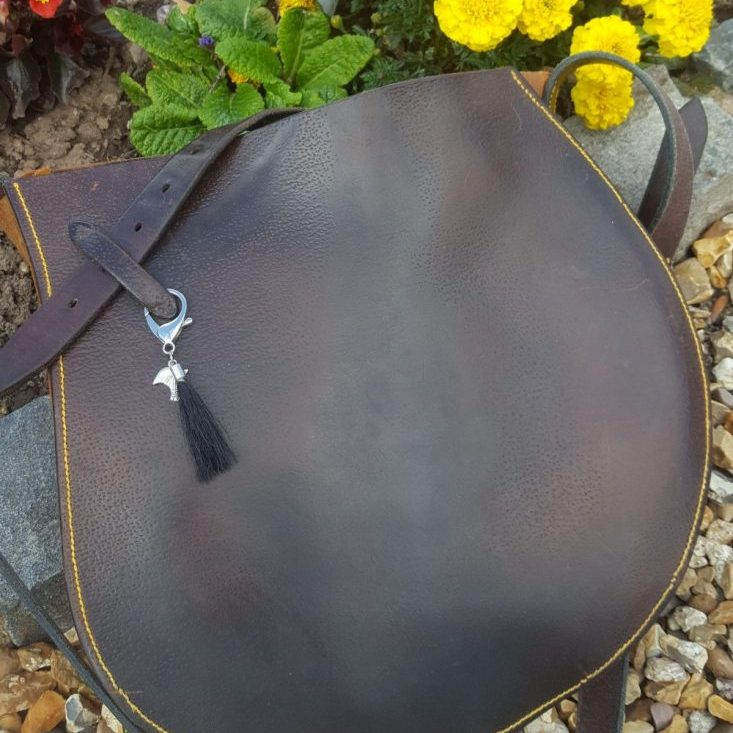 Bespoke saddle Flap Bag