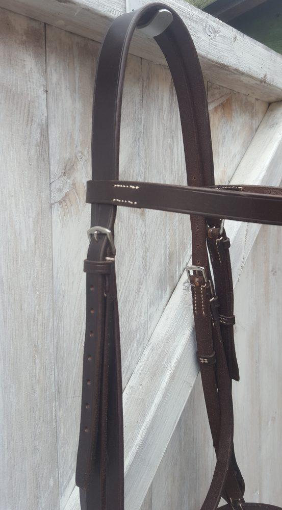 Cavesson Bridle Detail