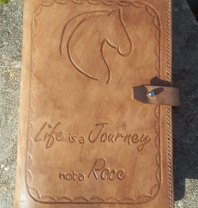 Hand Tooled Journal Notebook Cover