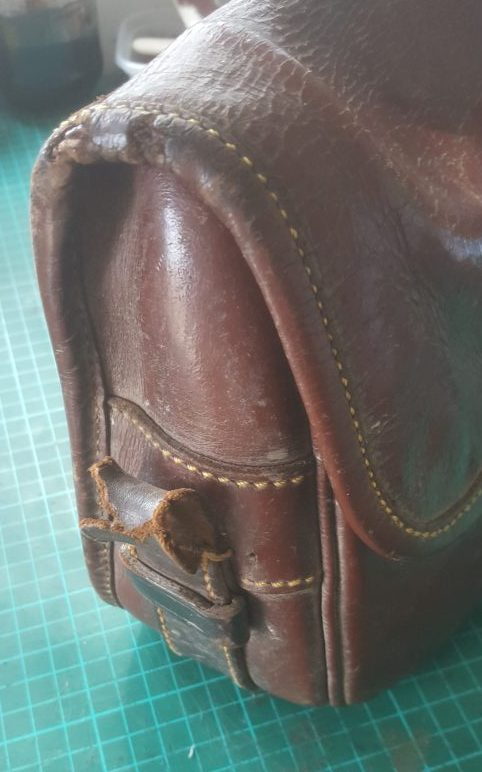 Cartridge bag chape needing a new buckle