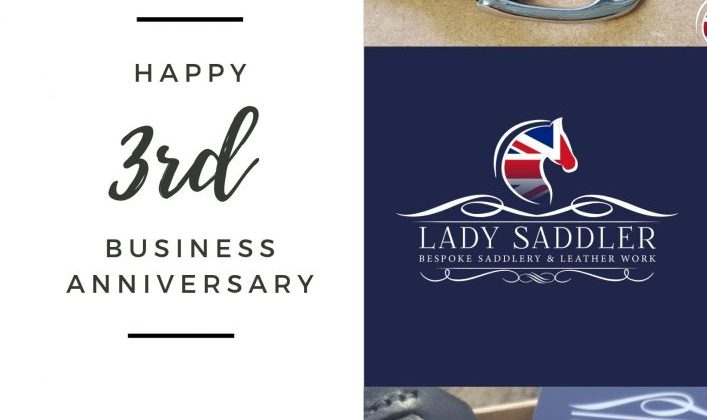 The Lady Saddler Turns Three Years Old