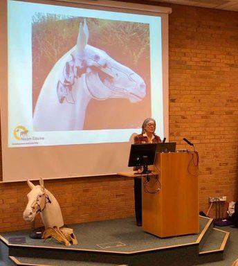 Dr Jane Nixon presenting