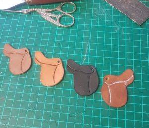 Saddle Keyring Colour Varieties