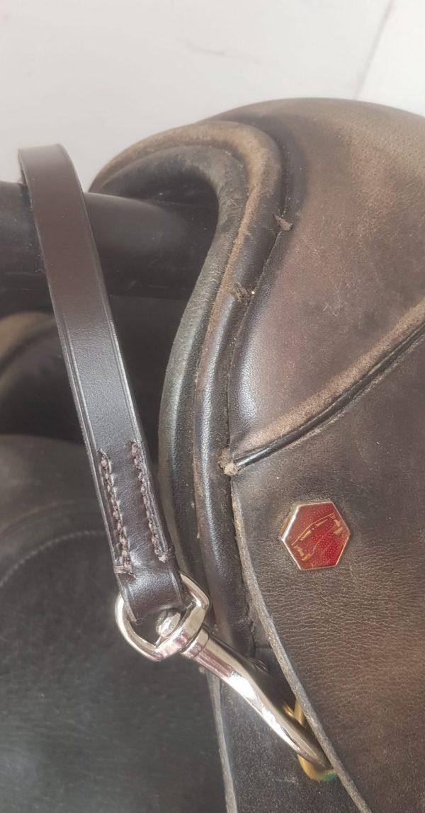 Confidence Balance Strap on a saddle