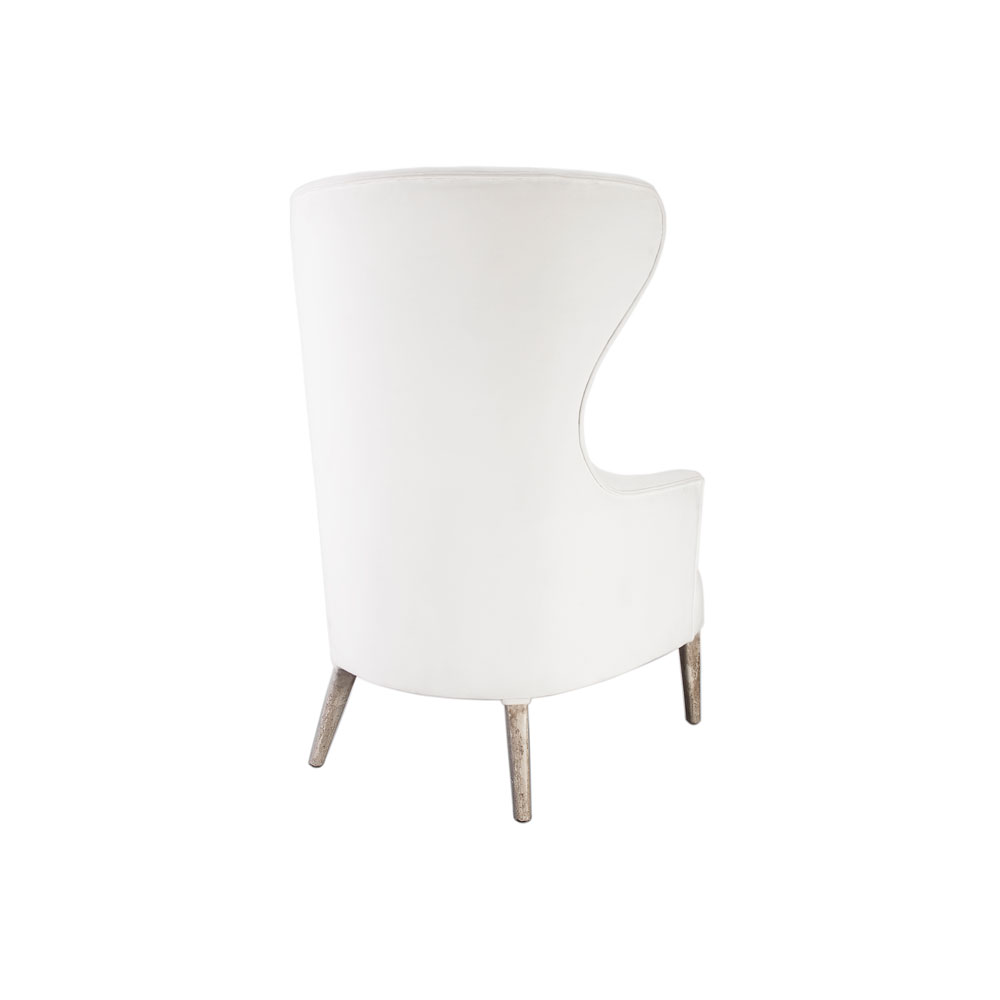 White Wing Chair L S J White Wing Chair