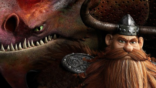 Stoick et son gentil dragon