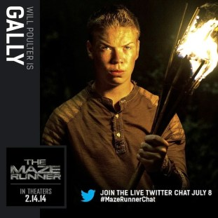 Will Poulter (Gally)