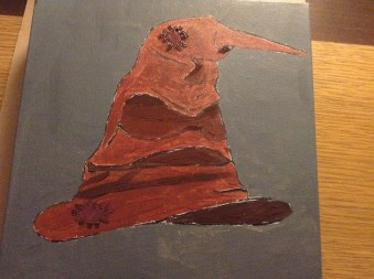 Après la peinture, pendant séchage