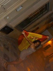 Jessica in Spain