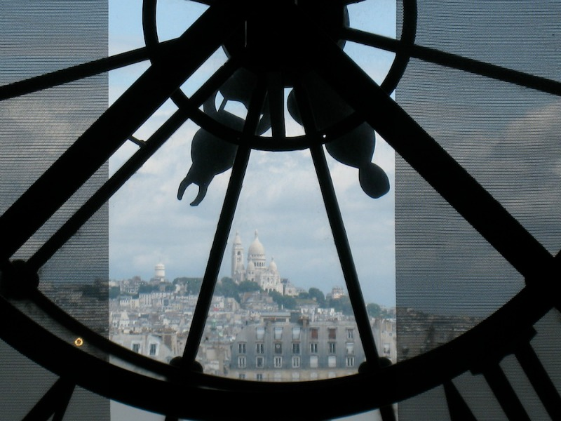 Paris from Musee d'Orsay