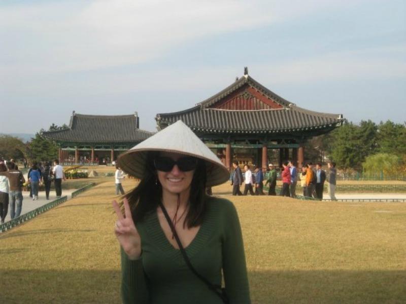 Katrina Baumann in Gyeongju