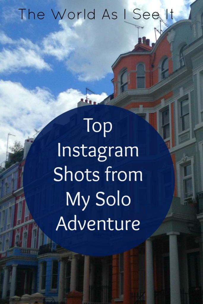 Top Instagram Shots from My Solo Adventure