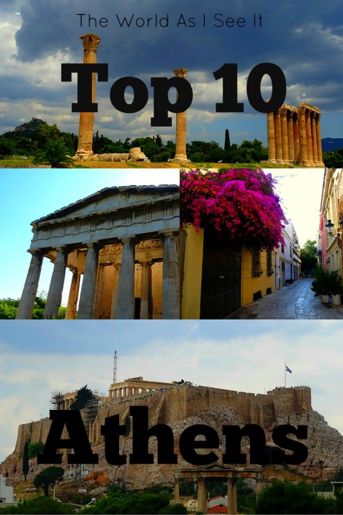 Athens Top 10 Things to do
