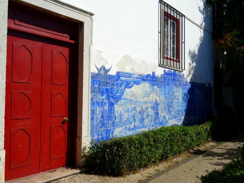 Azulejos panel