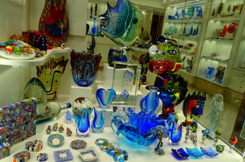 Venice glass souvenirs