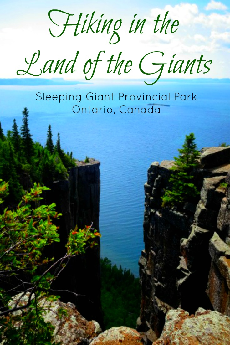 Hiking in the Land of the Giants: Sleeping Giant Provincial Park in Ontario Canada