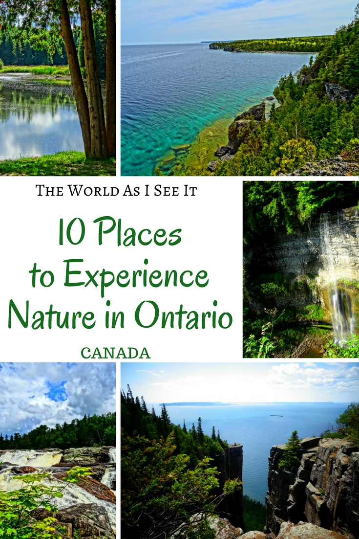 Top 10 Places to Experience Nature in Ontario, Canada