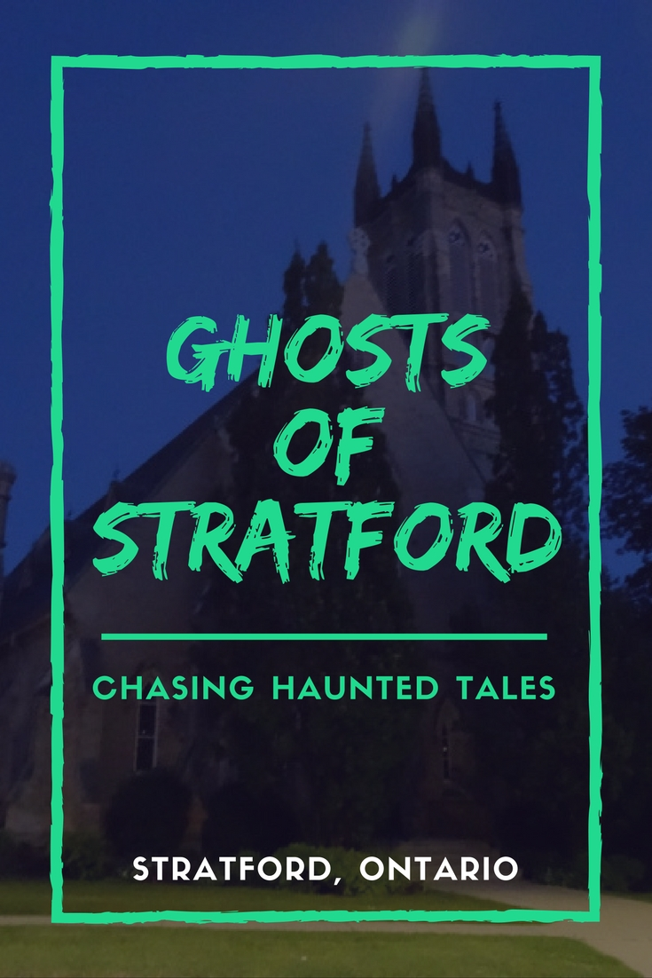 Chasing Haunted Tales with Ghosts of Stratford