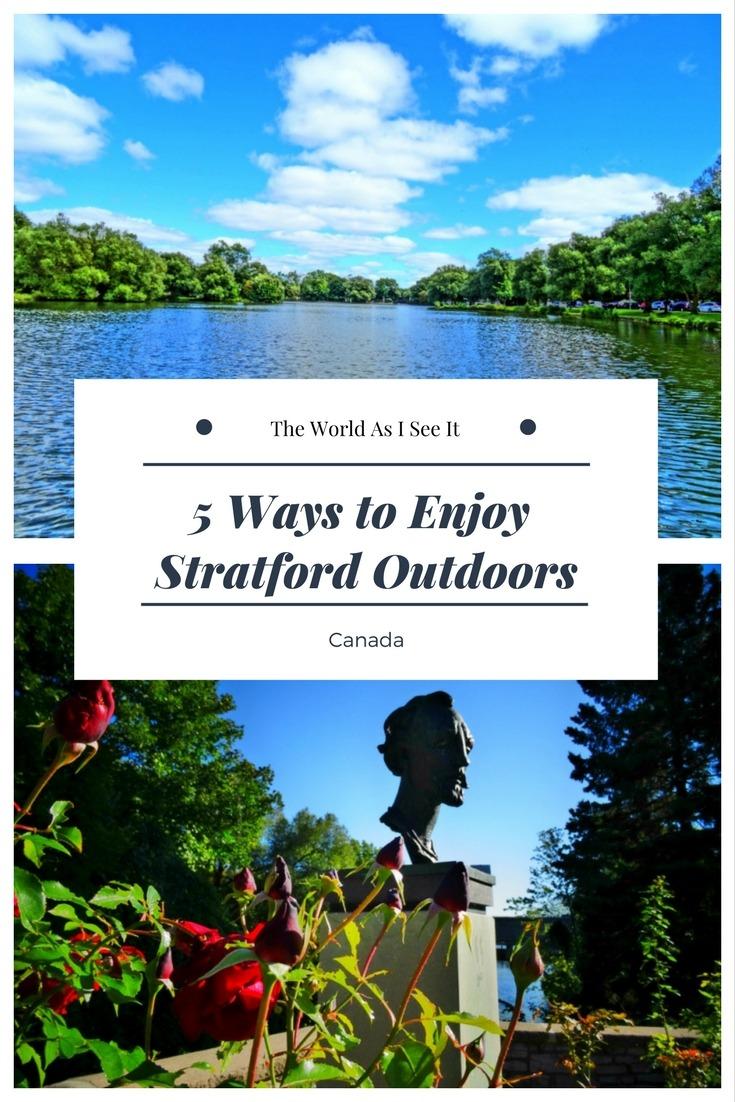 5 Ways to Enjoy Stratford Outdoors
