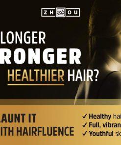 3 علب حبوب تطويل الشعر هايرفلوينس الامريكية