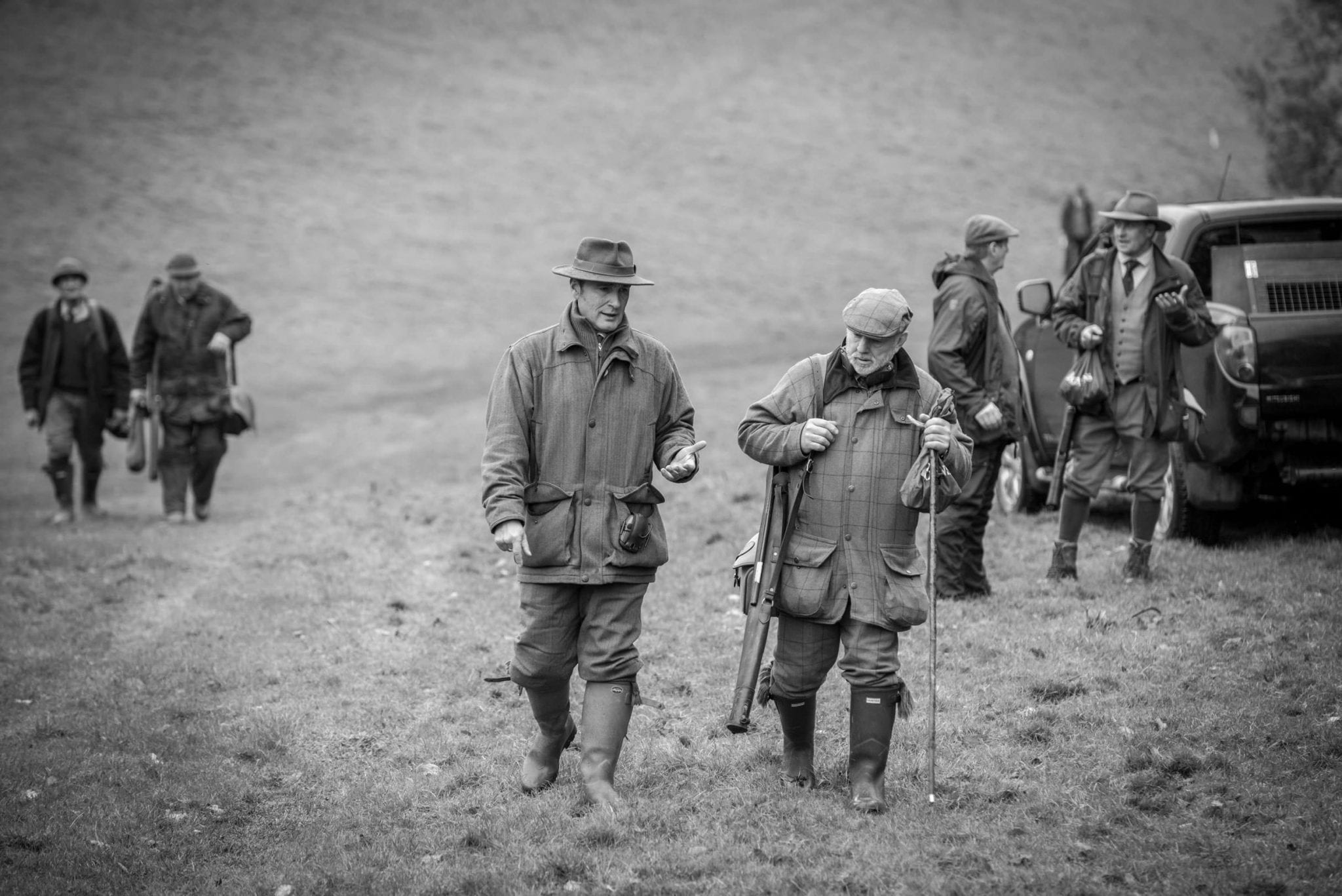 Simulated game shooting at one of our countryside Gloucestershire locations