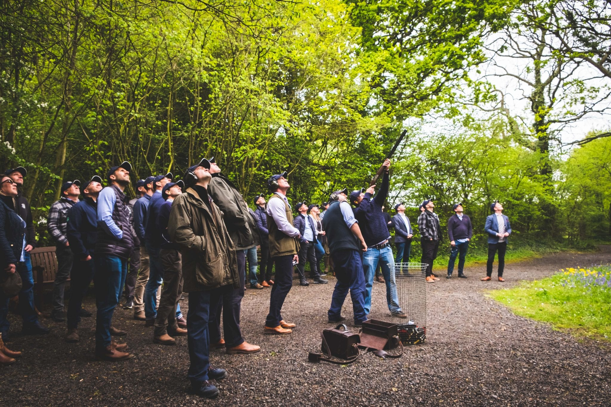 Corporate events at Lady's Wood Shooting School