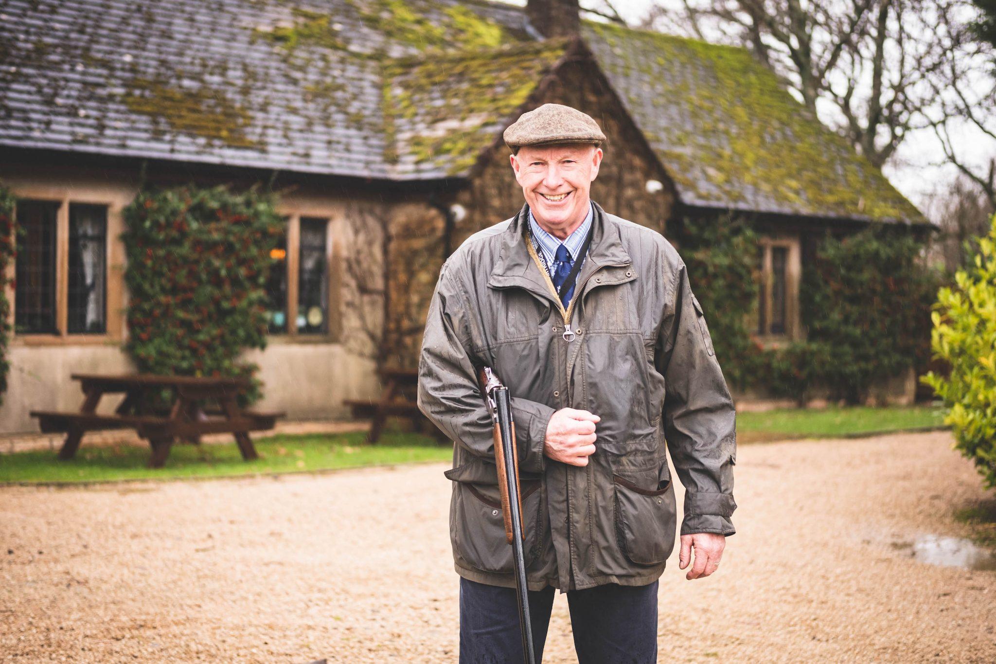 Ernie Hemmings, Owner of Lady's Wood Shooting School