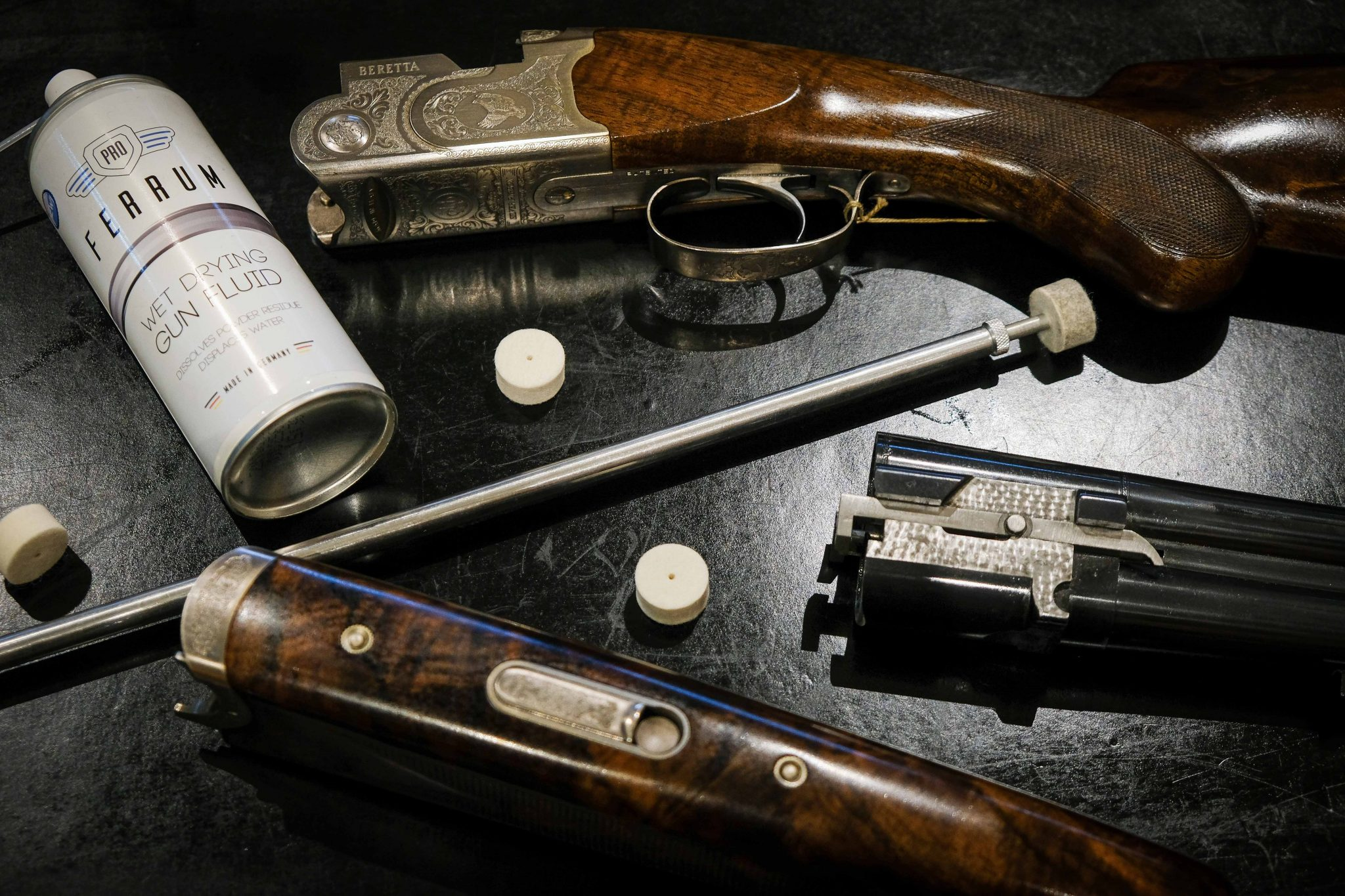 Some of the items mentioned in 'How to clean your shotgun'