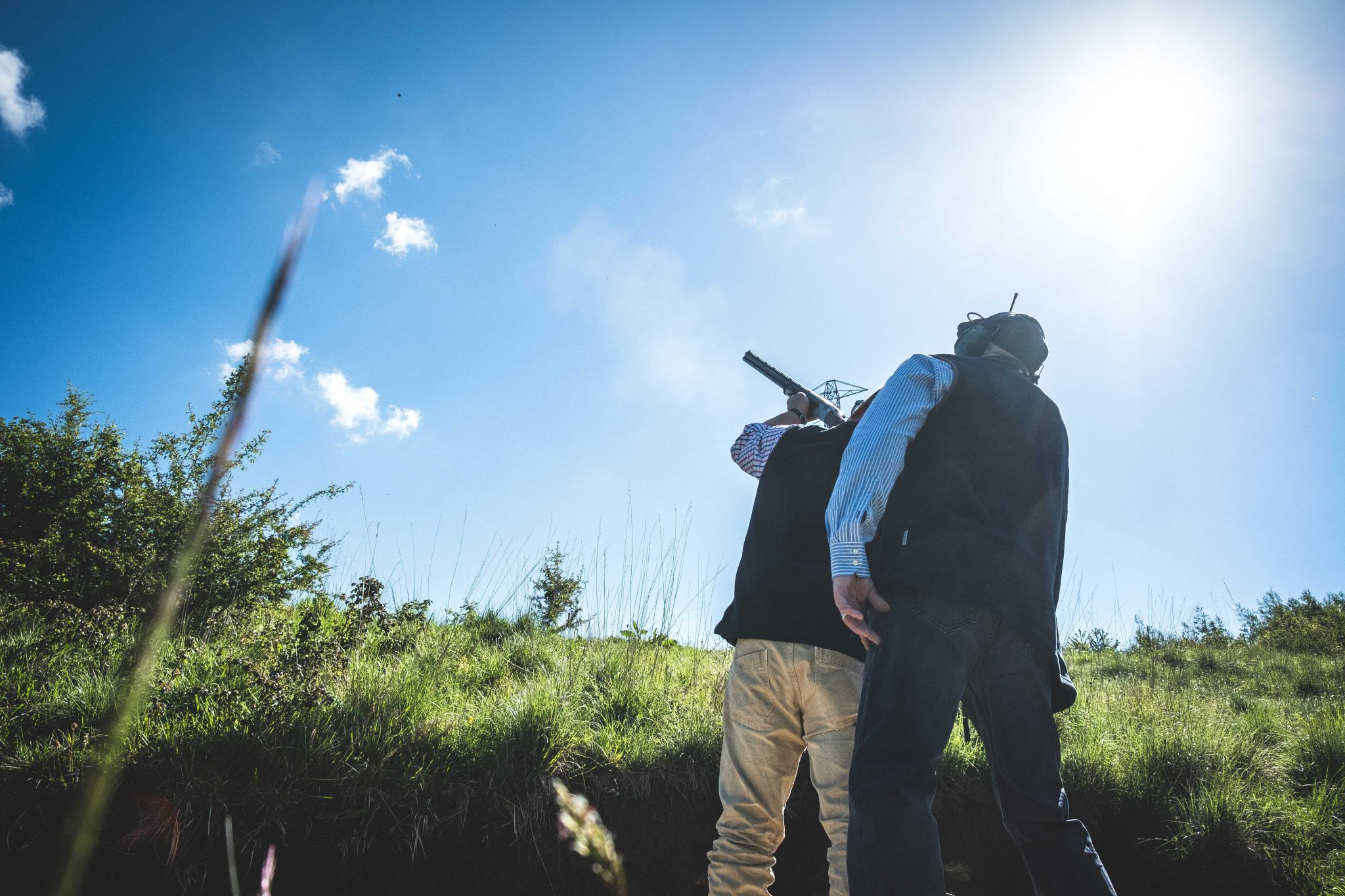 Game shooting lesson at the Lady's Wood Extreme Tower