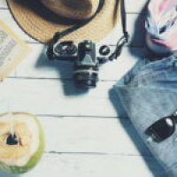 Crisscross Tie Back Striped Halter and Pants Set