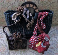 Handbag Made From Ties