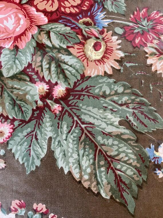 vintage ivy fabric
