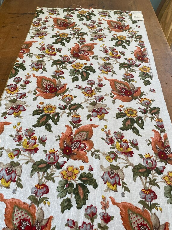Vintage 1960s Jofa Tudor Fabric