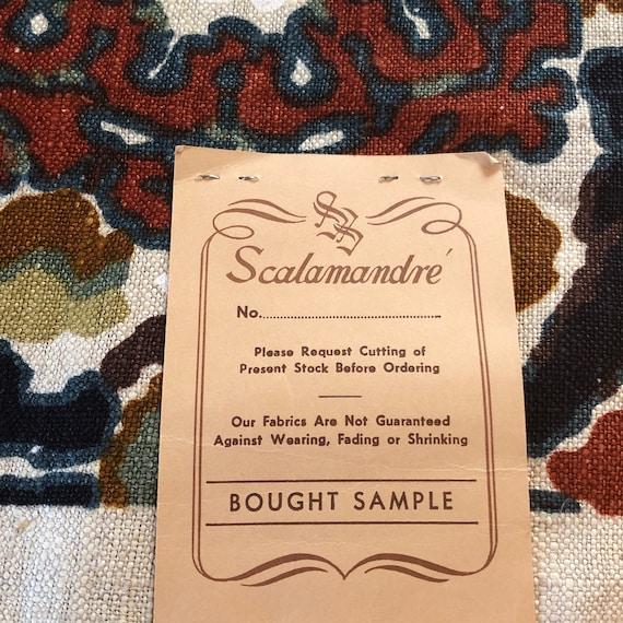 Vintage Scalamandré Siracusa Fabric