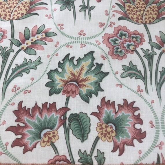 """1991 Bassett McNab """"Janine"""" Fabric Sample"""
